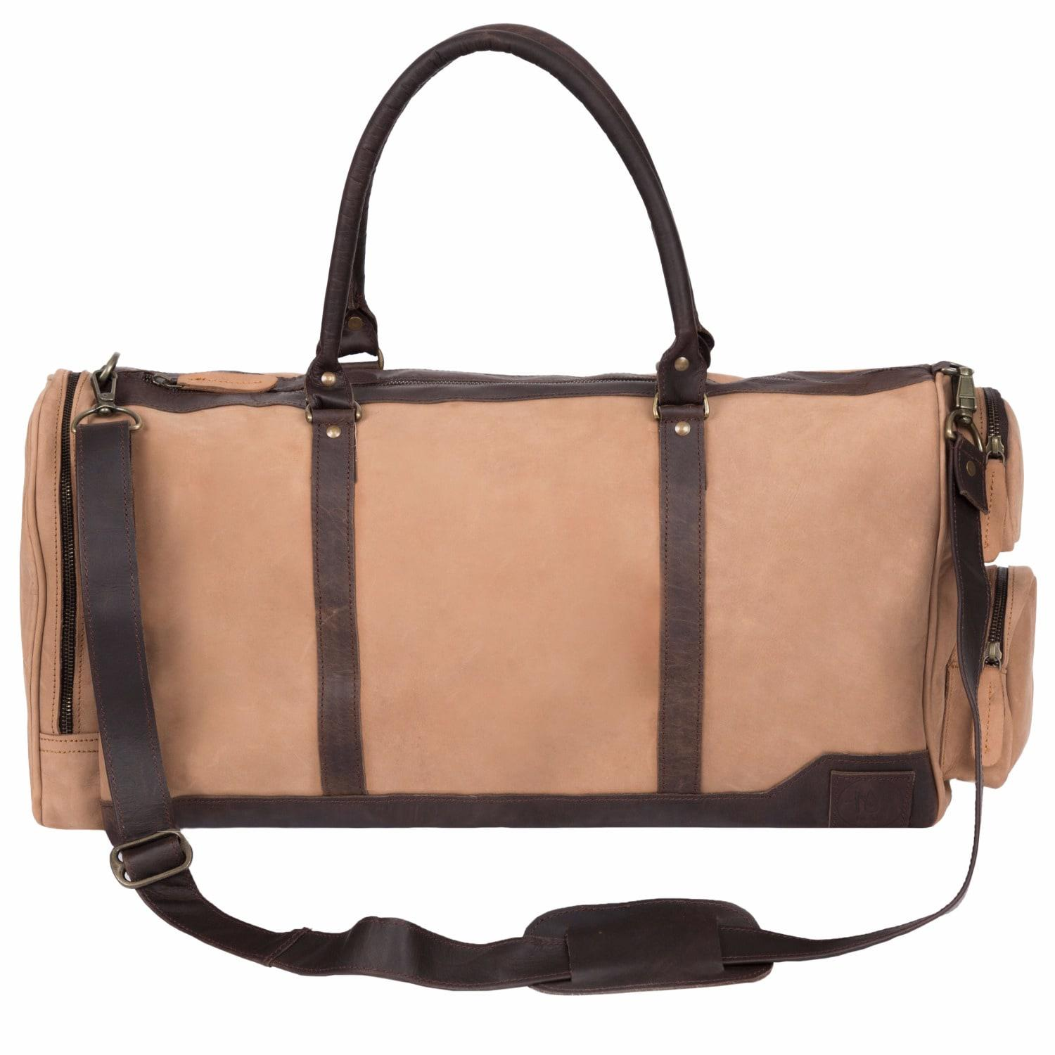 Clearance Cheap Price Free Shipping Brand New Unisex Deep leather holdall/duffle in Vintage Cognac MAHI Leather With Paypal Sale Online Discount Inexpensive QFhKcVHnRU