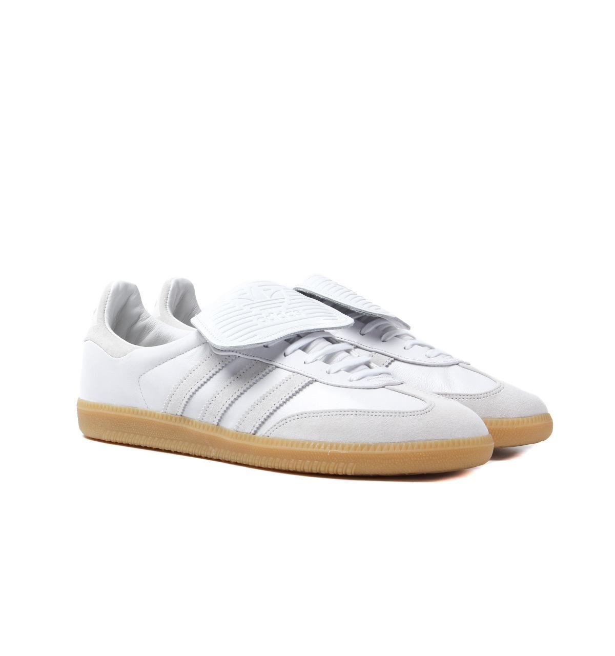 6ccca8bc9ad Lyst - adidas Originals Adidas Samba Recon Lt Crystal White Trainers ...