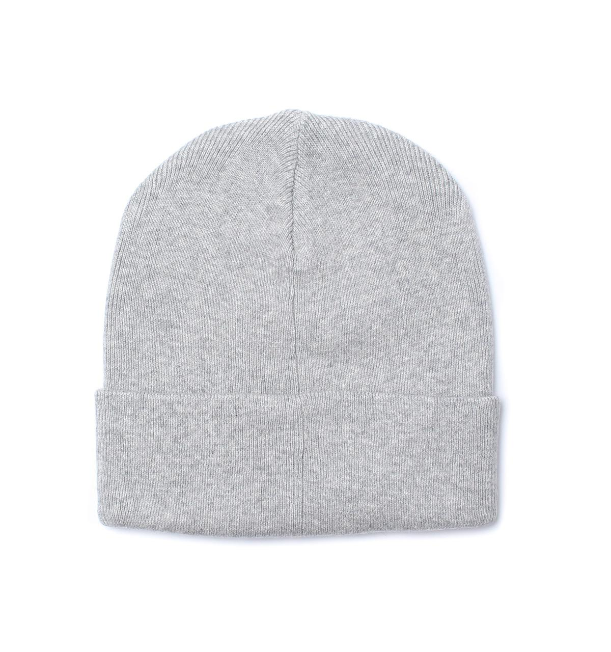 Lyst - Polo Ralph Lauren Rugby Grey Fold Over Jersey Beanie Hat in ... bcab180c808