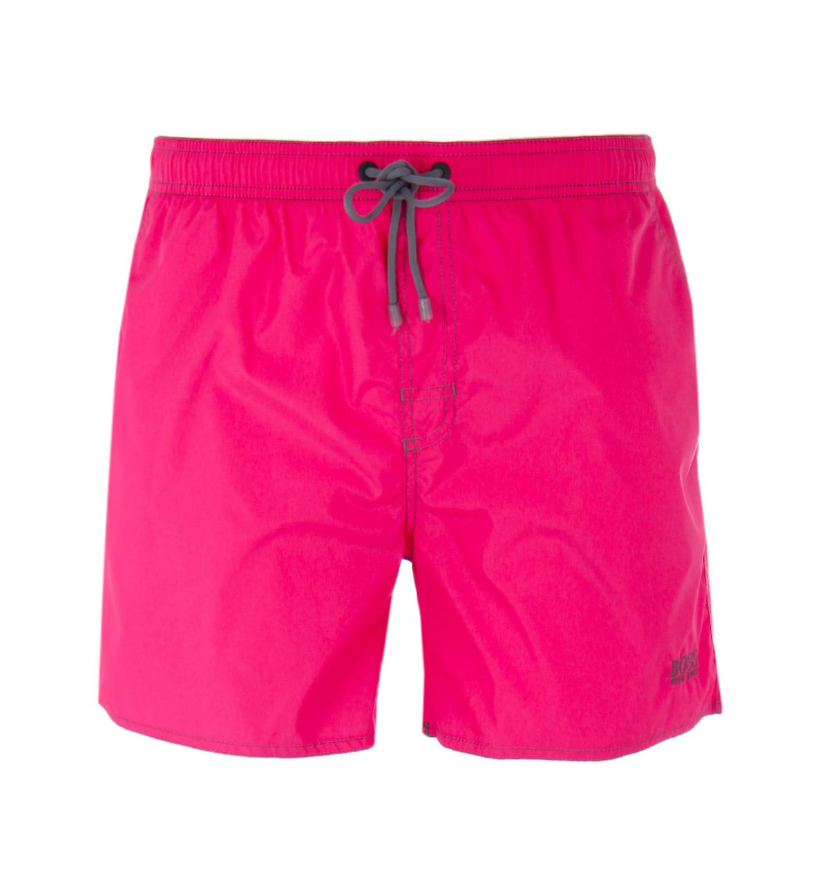 70a326251e BOSS Lobster Bright Pink Swim Shorts in Pink for Men - Lyst