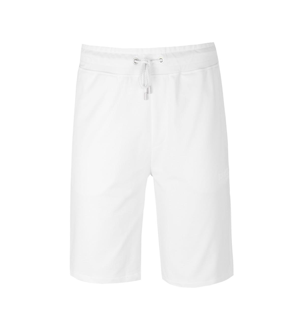 bcf06e9f8 Lyst - BOSS by Hugo Boss Boss Heritage White Sweat Shorts in White ...