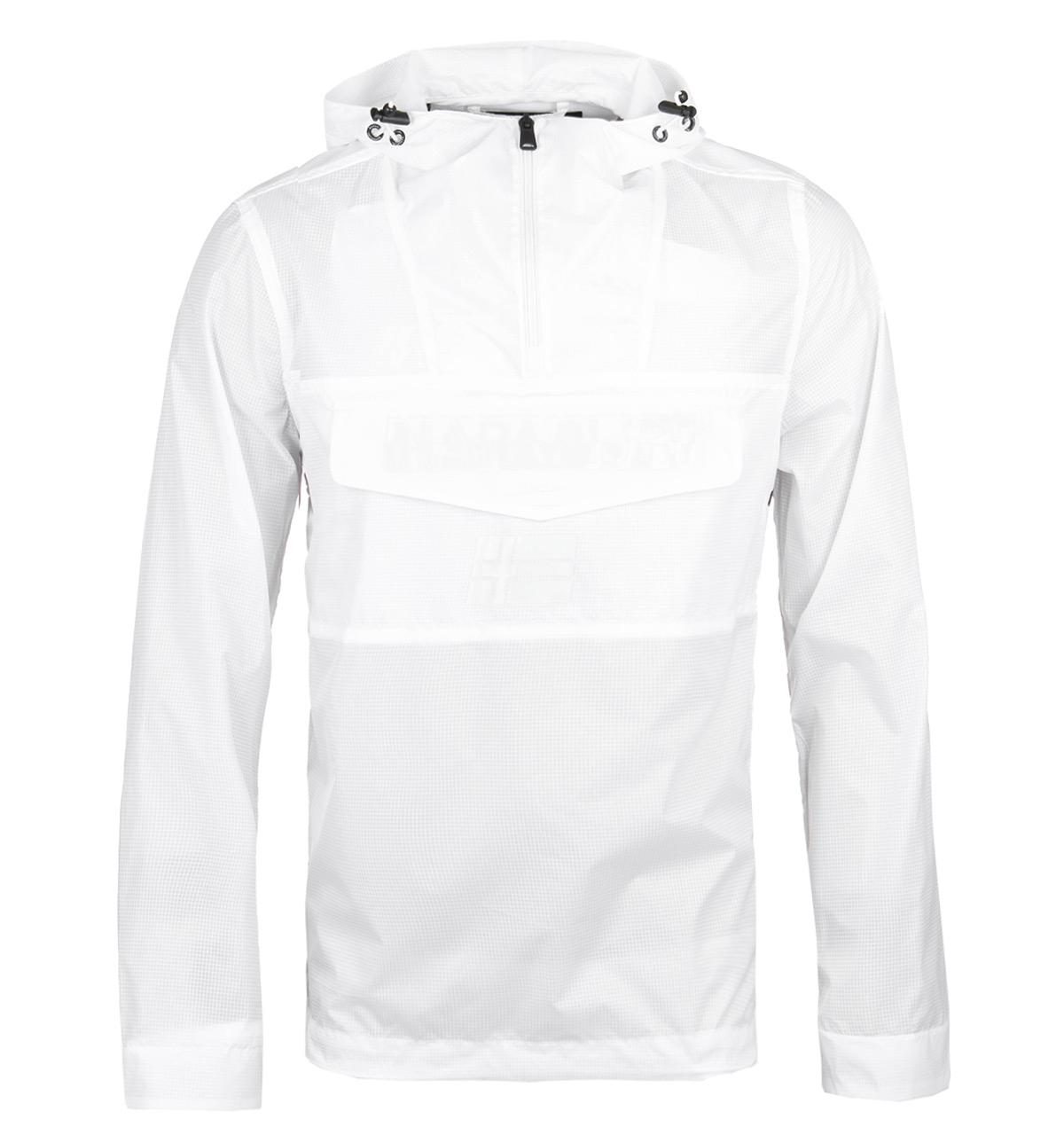 Bright Lyst Asheville In Lightweight Jacket White Napapijri Hooded wqEq7v