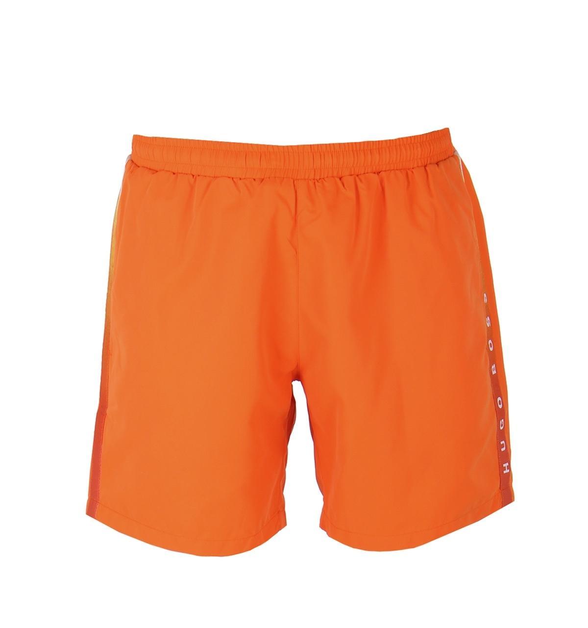 6160a1167 BOSS by Hugo Boss Boss Seabream Orange Swim Shorts in Orange for Men ...