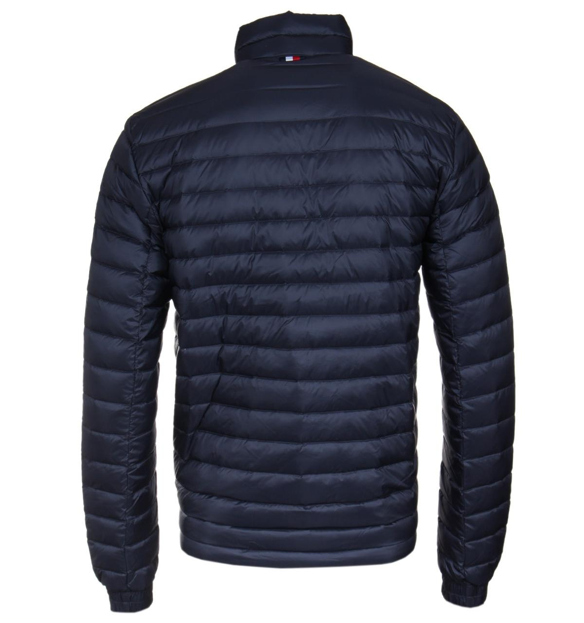 Tommy Hilfiger Packable Navy Down Bomber Jacket in Blue for Men - Lyst 3e089c58be7