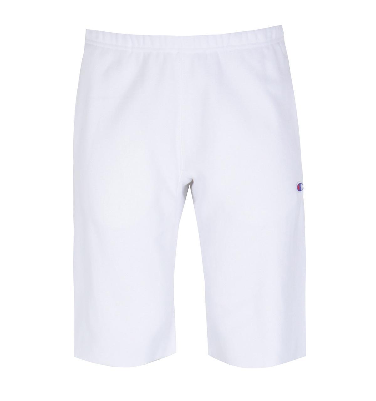 ec6702164bb Lyst - Champion Reverse Weave White Sweat Shorts in White for Men