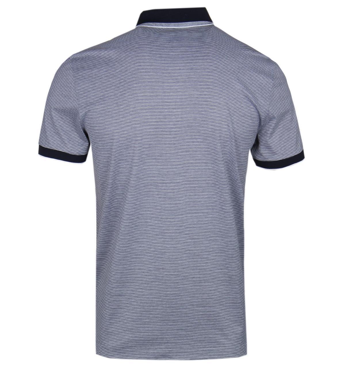 1f63f9393 BOSS by Hugo Boss - Blue Boss Phillipson32 Slim Fit Navy Polo Shirt for Men  -. View fullscreen