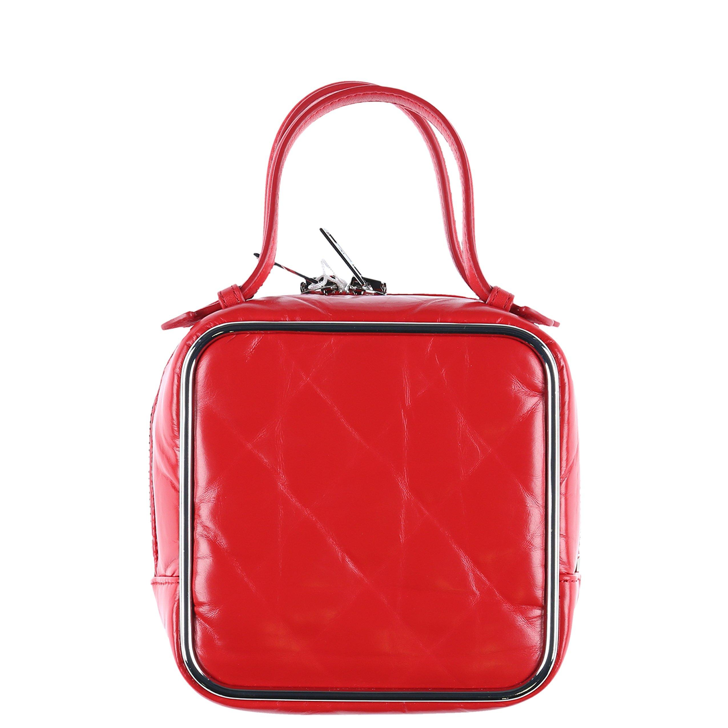 bba029d0e5bf Lyst - Alexander Wang Women s Halo Top Handle Bag in Red