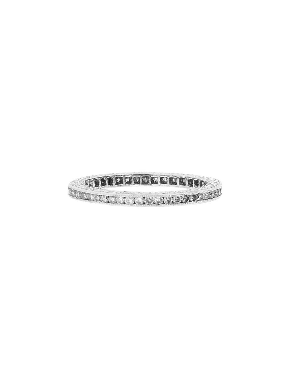 Sethi Couture Womens Triple Baguette Ring