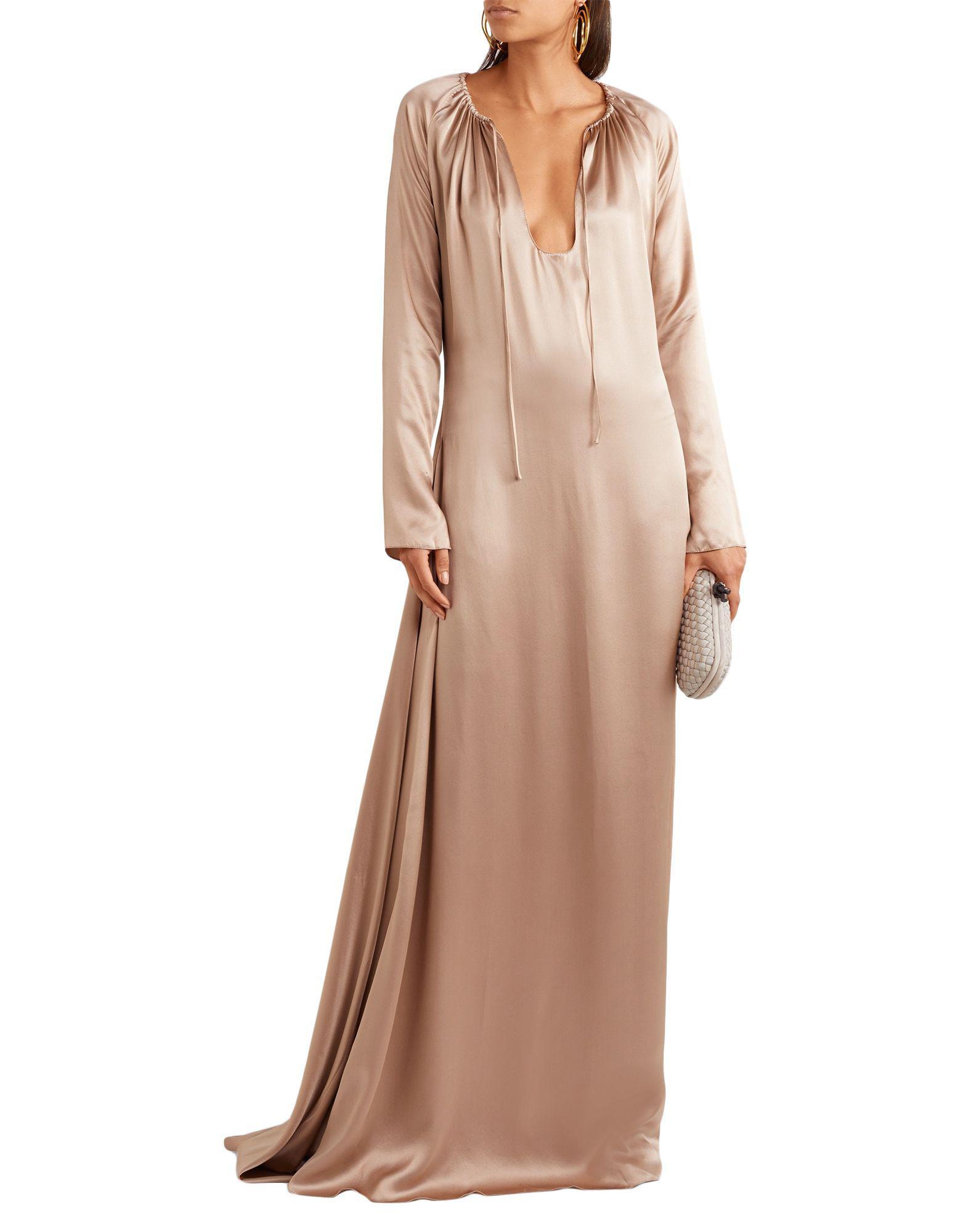 97565e862f9b Lyst - Juan Carlos Obando Long Dress in Natural