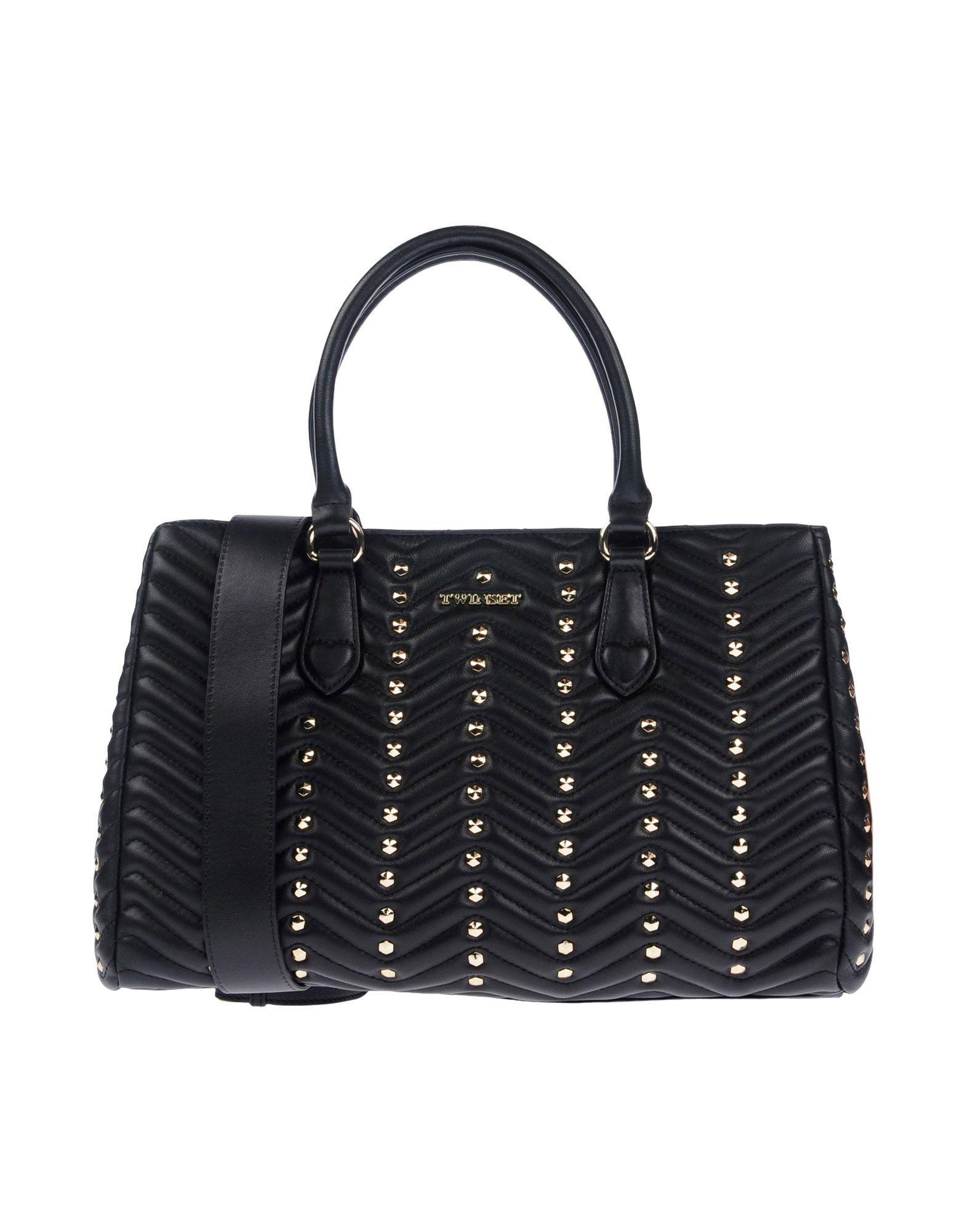 Twin Set Women S Black Handbags