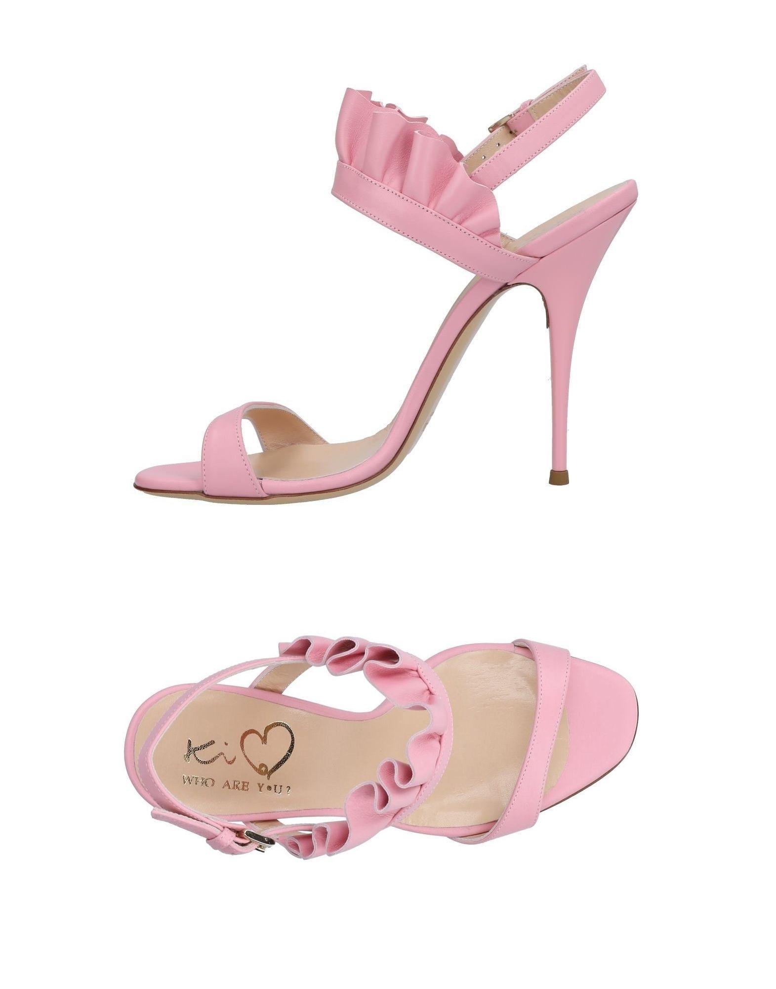 Ki6? Ki6? Who Are You? Qui Es-tu? Sandals Des Sandales SLJux6