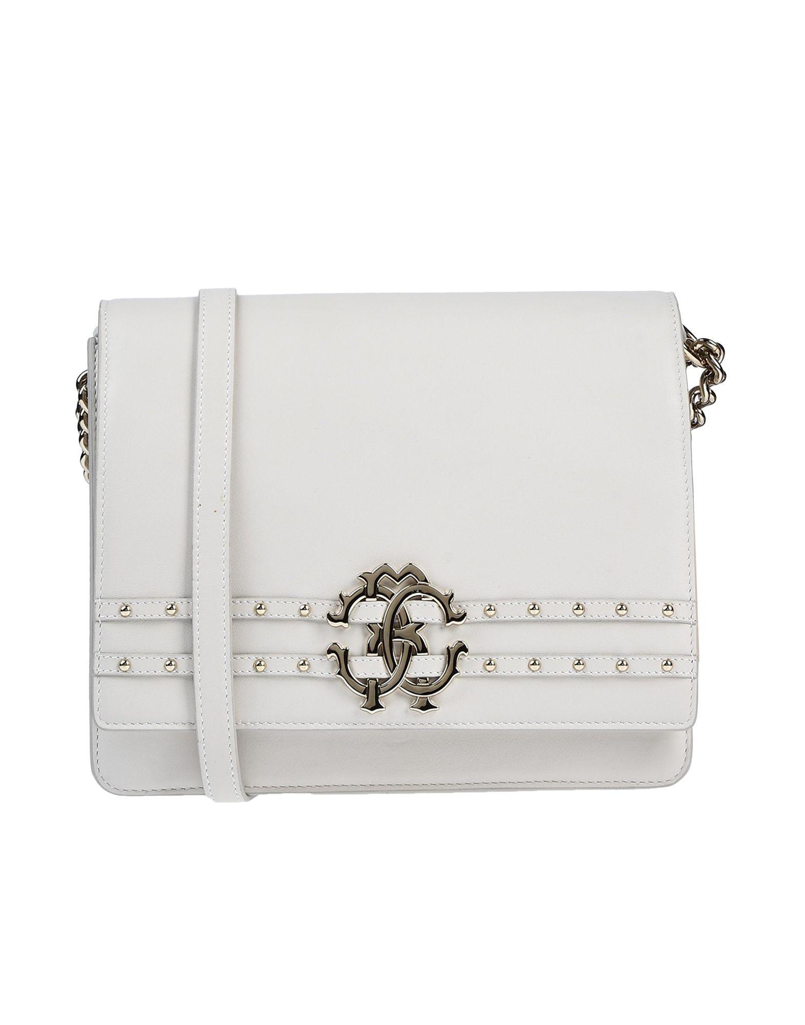 6bcd7e3558a Lyst - Roberto Cavalli Cross-body Bag in White
