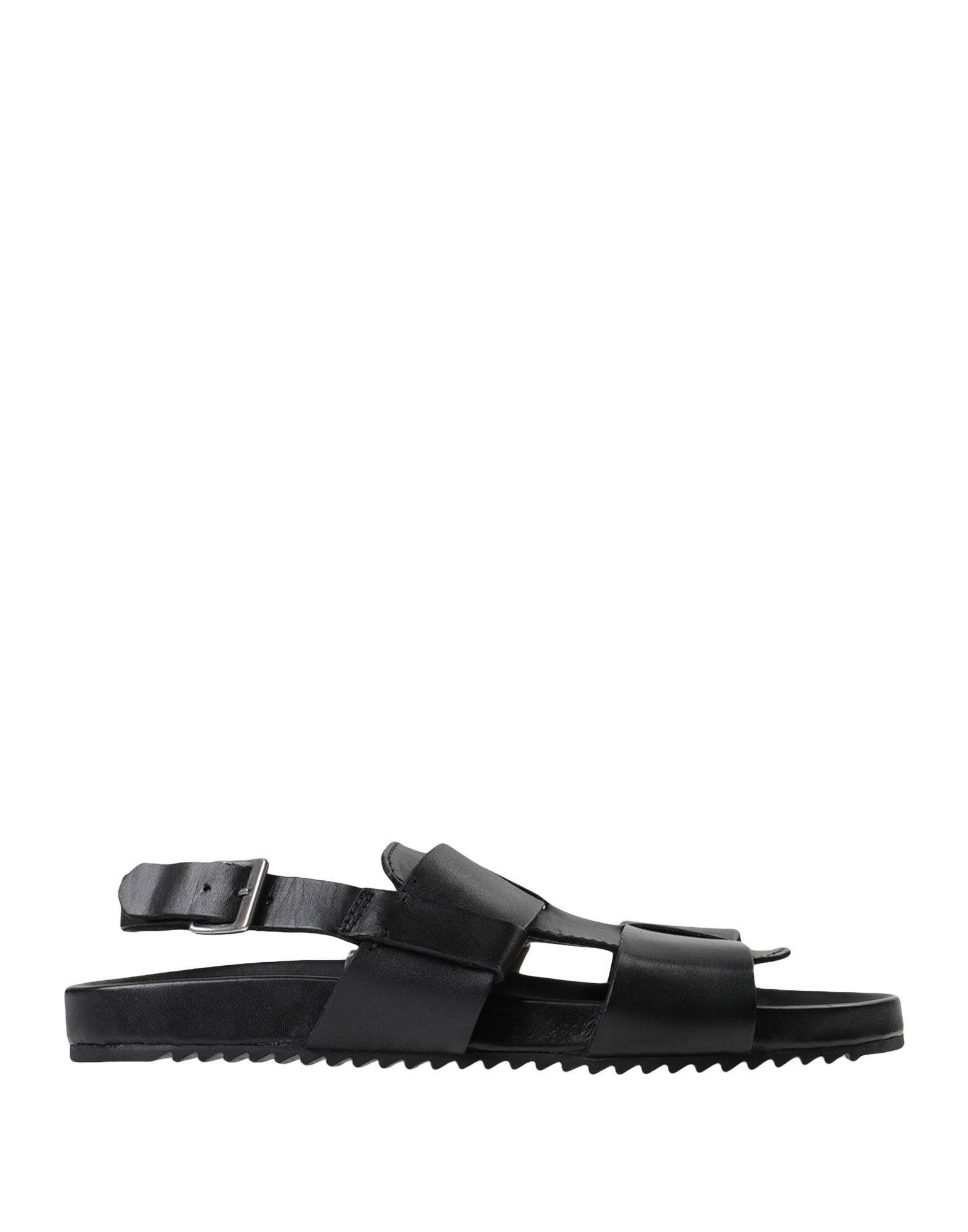 b7d26e792d8f GRENSON - Black Sandals for Men - Lyst. View fullscreen