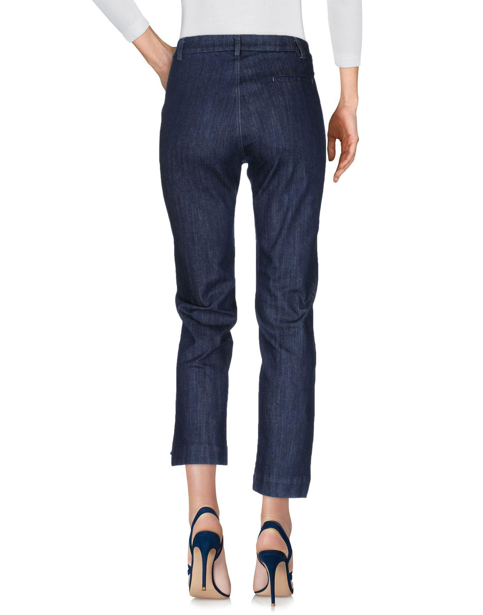 DENIM - Denim trousers Erika Cavallini Semi Couture iUGO5Dp