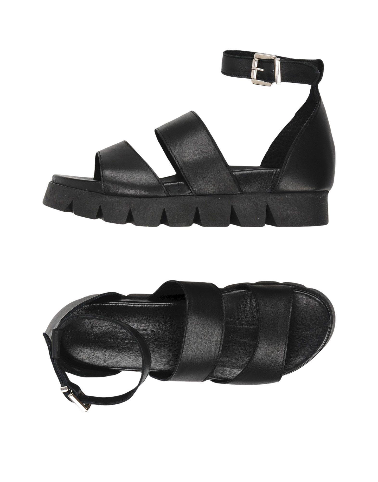 Sandals Lyst In Black Pierre Darre' 5p6nfqUwA