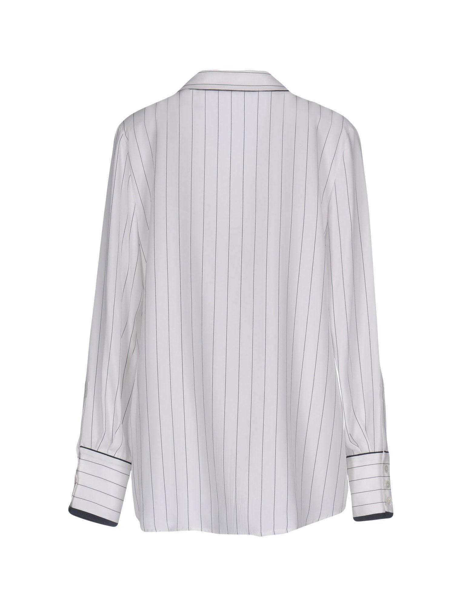Lyst - Frame Shirt in White