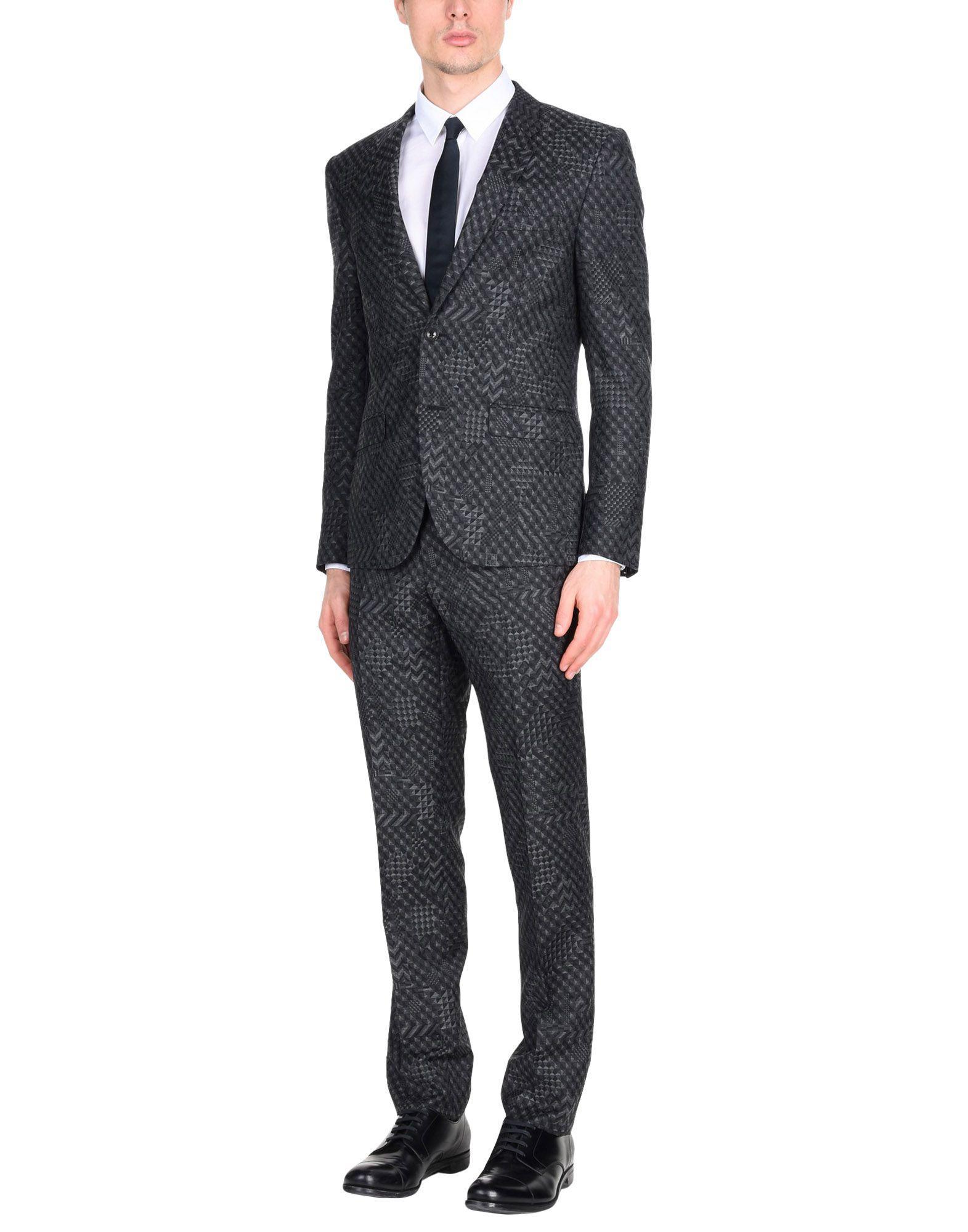 Lyst - Costume Versace pour homme en coloris Gris 75afab372d3