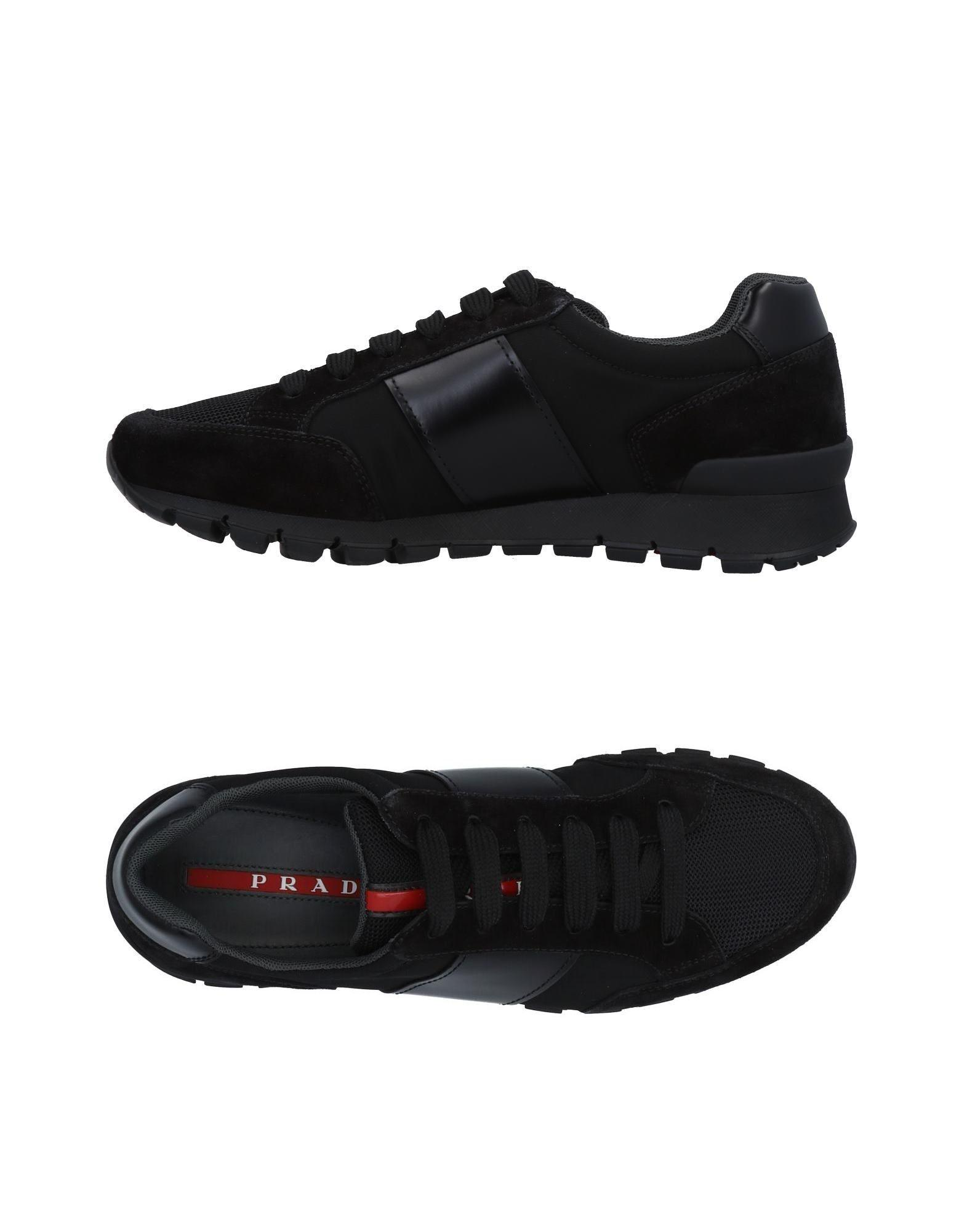 Prada Sport Low-Top Logo Sneakers from china free shipping low price Cheapest discount newest sale 2014 unisex 1JeOl