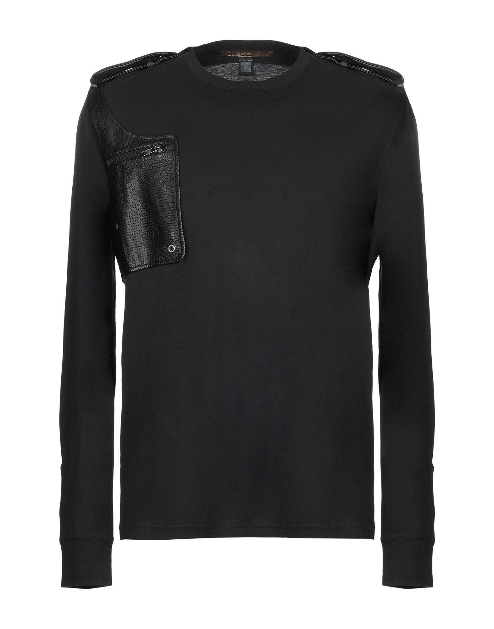 269868e3f Lyst - Class Roberto Cavalli T-shirt in Black for Men