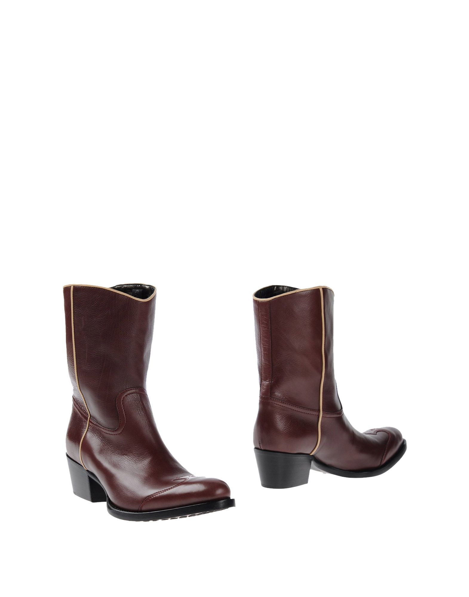 car shoe ankle boots in brown lyst