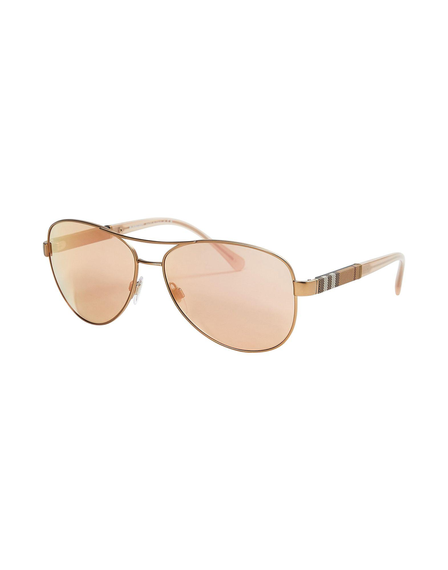 0999af66a2ab Lyst - Burberry Sunglasses in Metallic