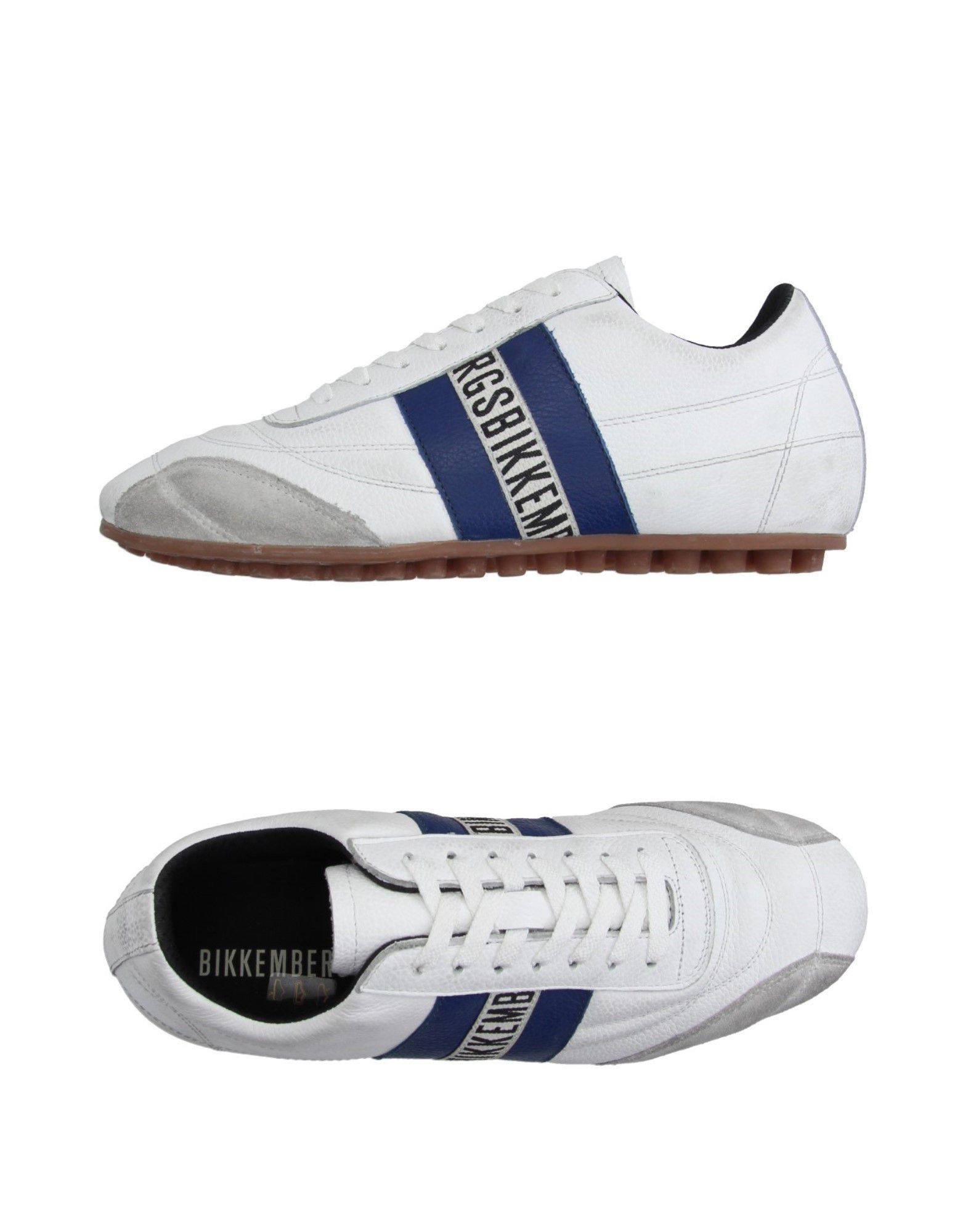 bikkembergs low tops sneakers in white for lyst