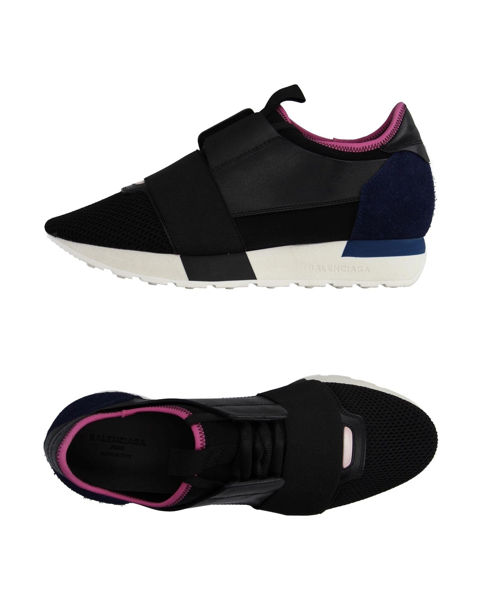 balenciaga low top sneakers in black lyst. Black Bedroom Furniture Sets. Home Design Ideas
