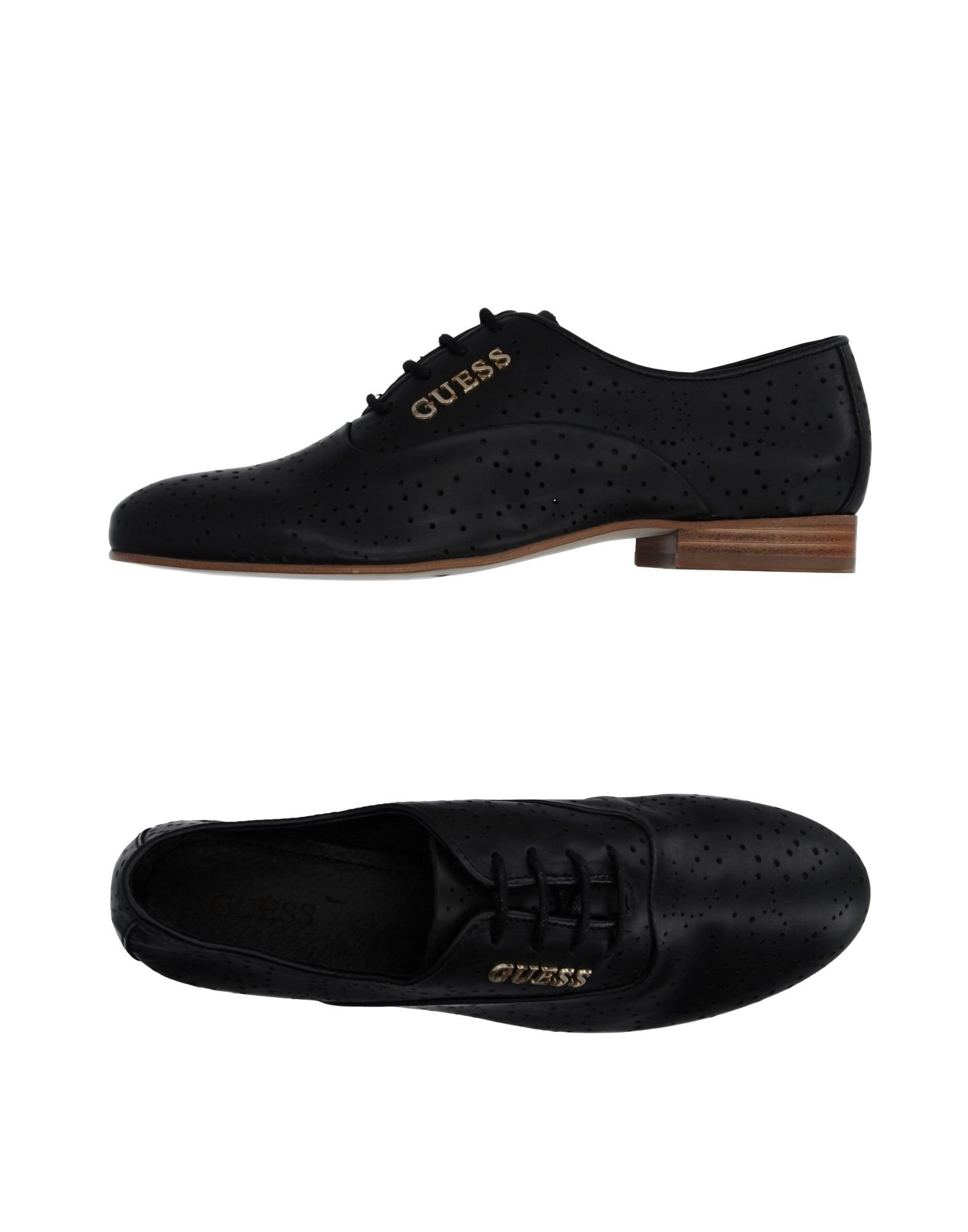 guess lace up shoes in multicolor for black lyst