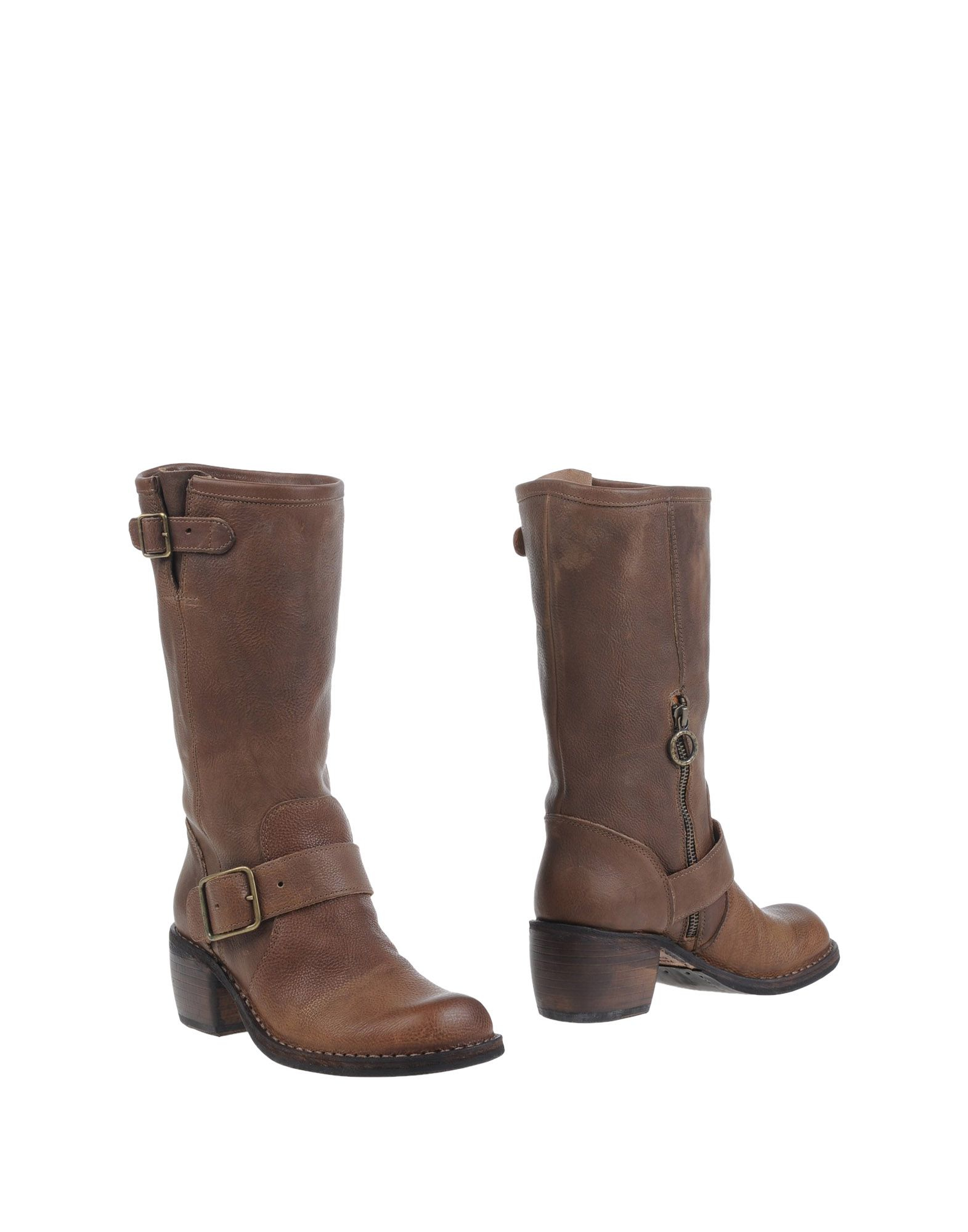 fiorentini baker boots in brown lyst