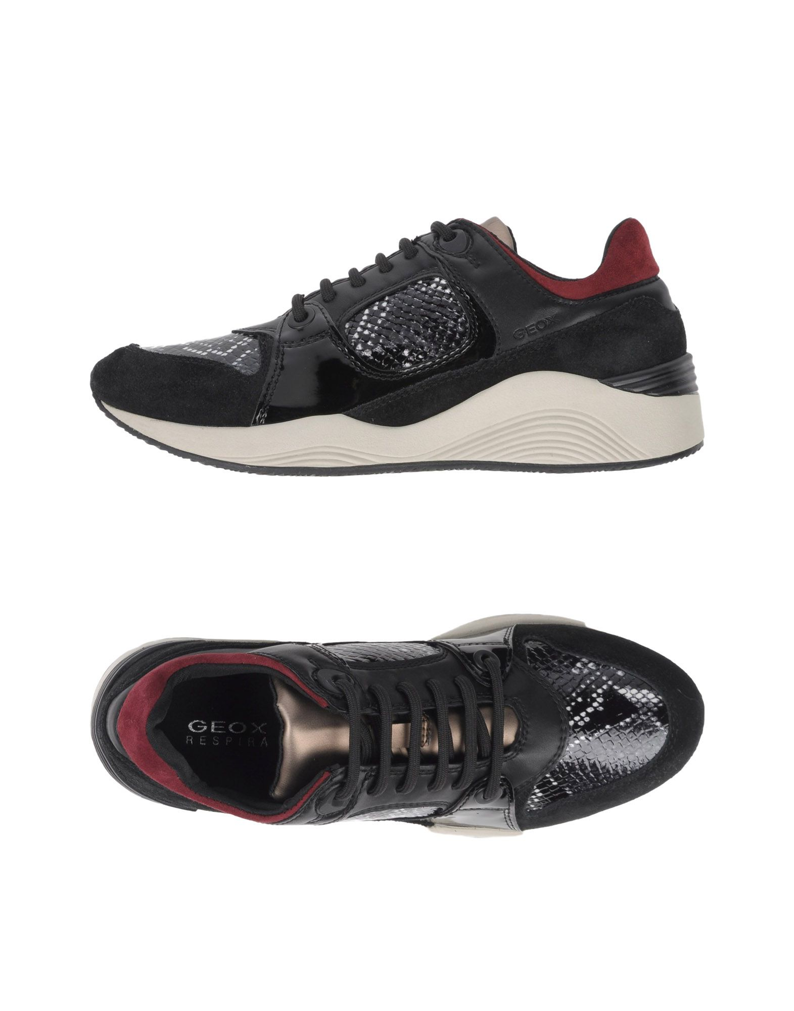 Globe Shoes Black Low Leather