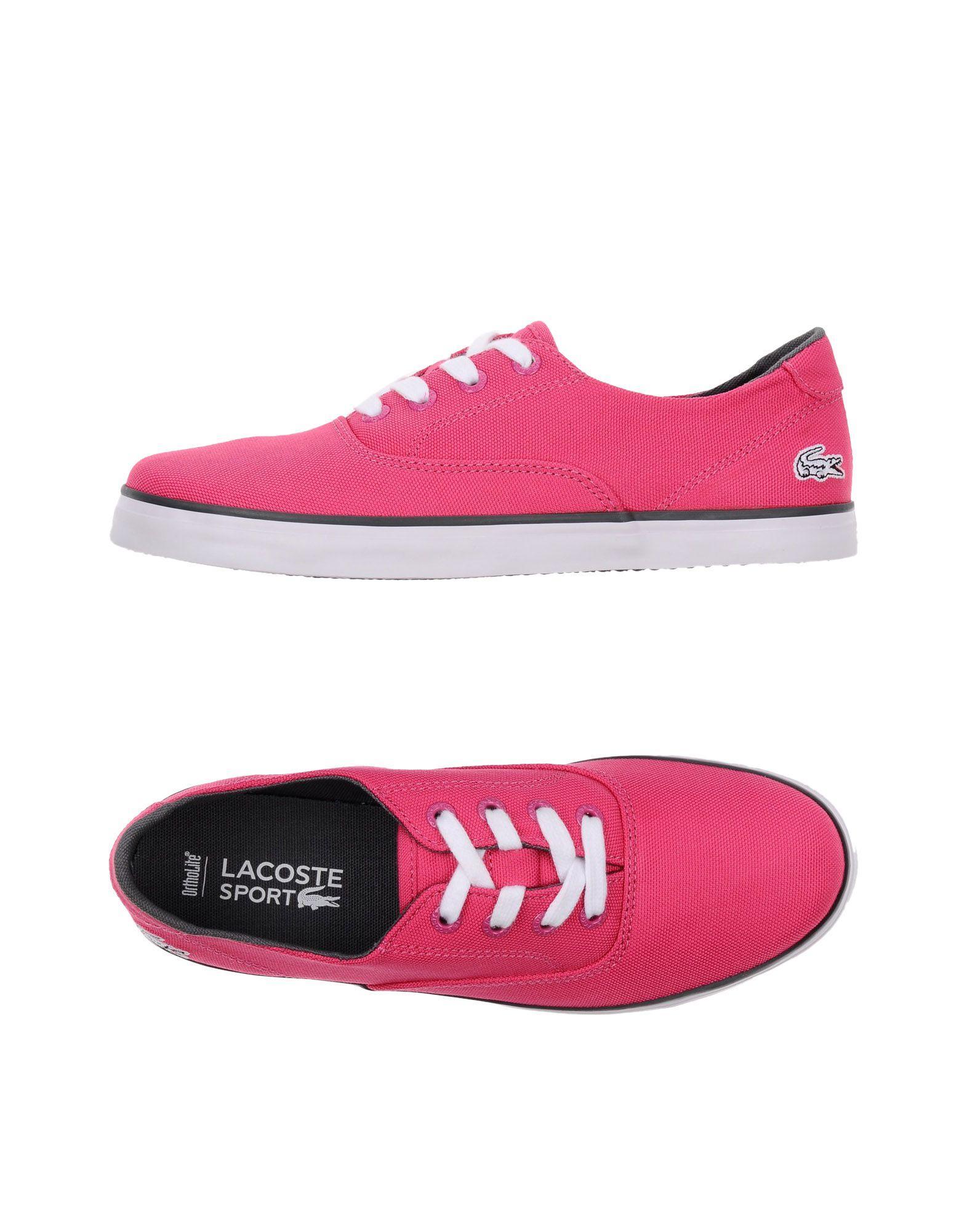 8b8f6408092b6a Lyst - Lacoste Sport Low-tops   Sneakers in Purple