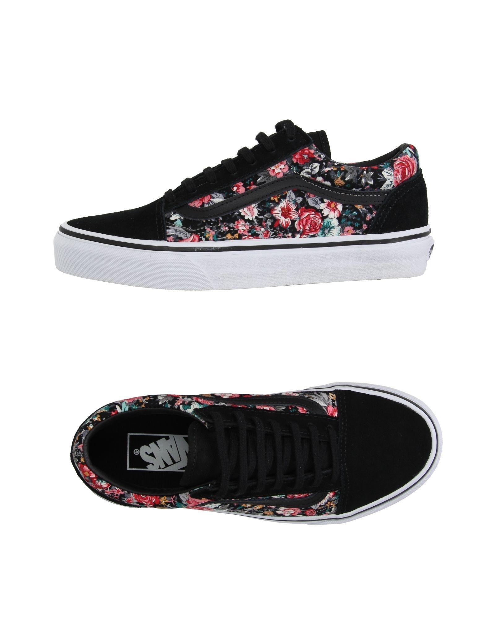 Vans Low Tops Amp Sneakers In Black Lyst