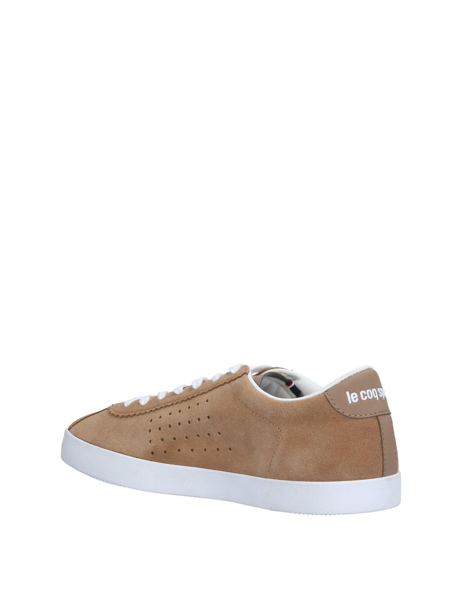 Le Coq Sportif Low Tops Amp Sneakers In Natural