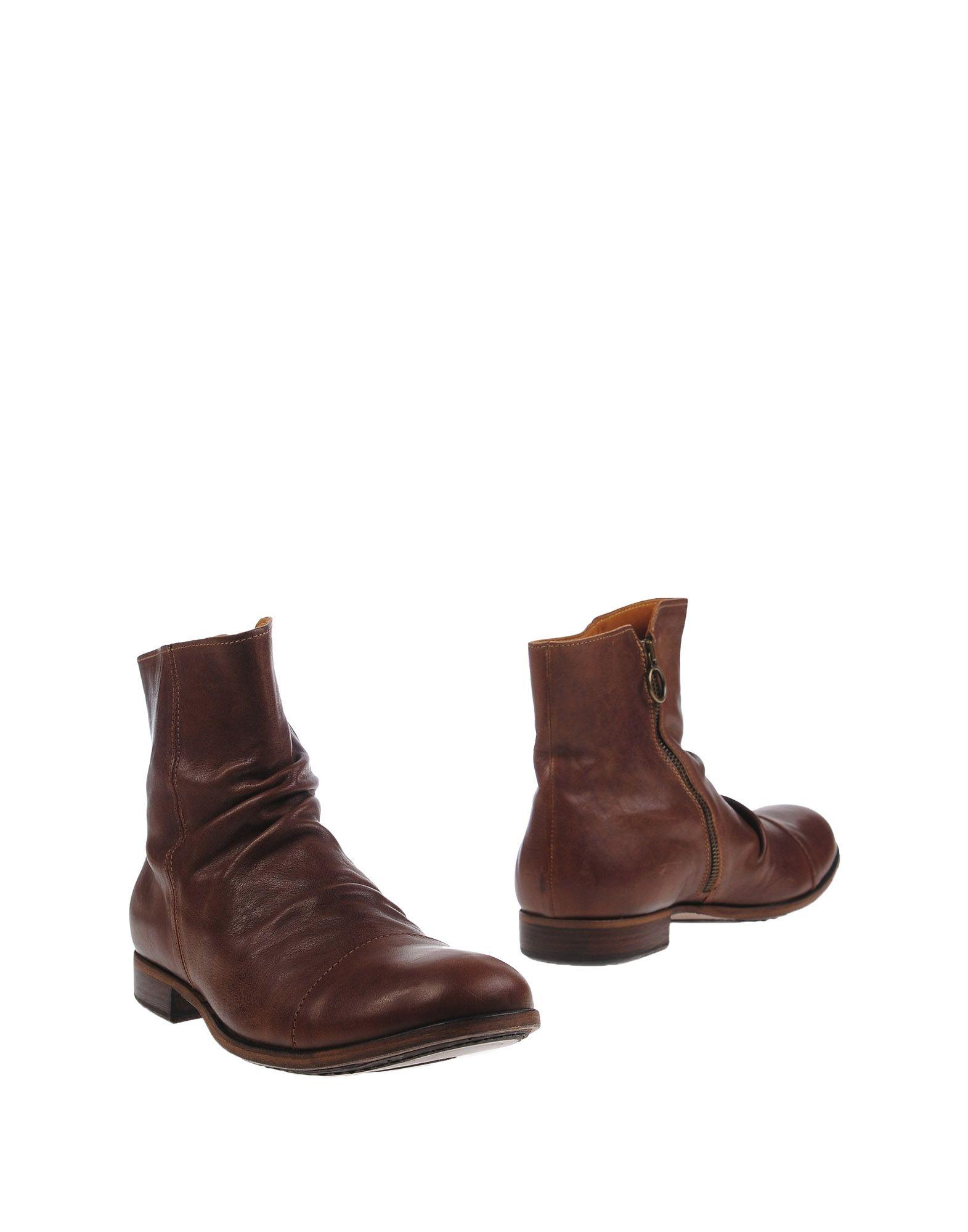 fiorentini baker ankle boots in brown for lyst
