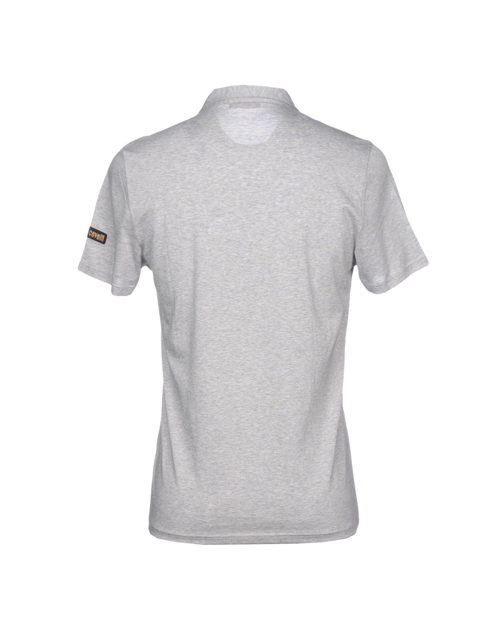5f4f5642 Roberto Cavalli Polo Shirt in Gray for Men - Lyst