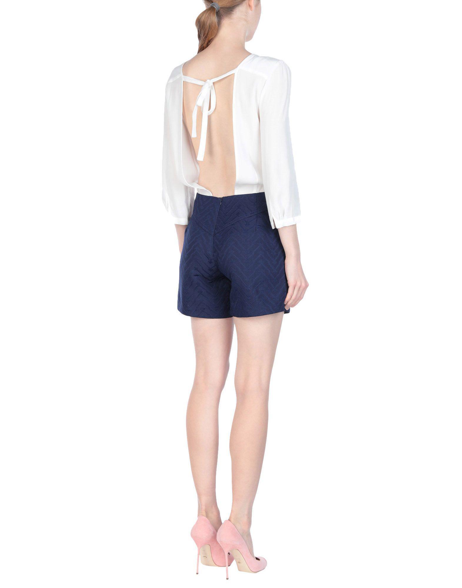 e3675dd360d Suncoo Jumpsuit in White - Lyst