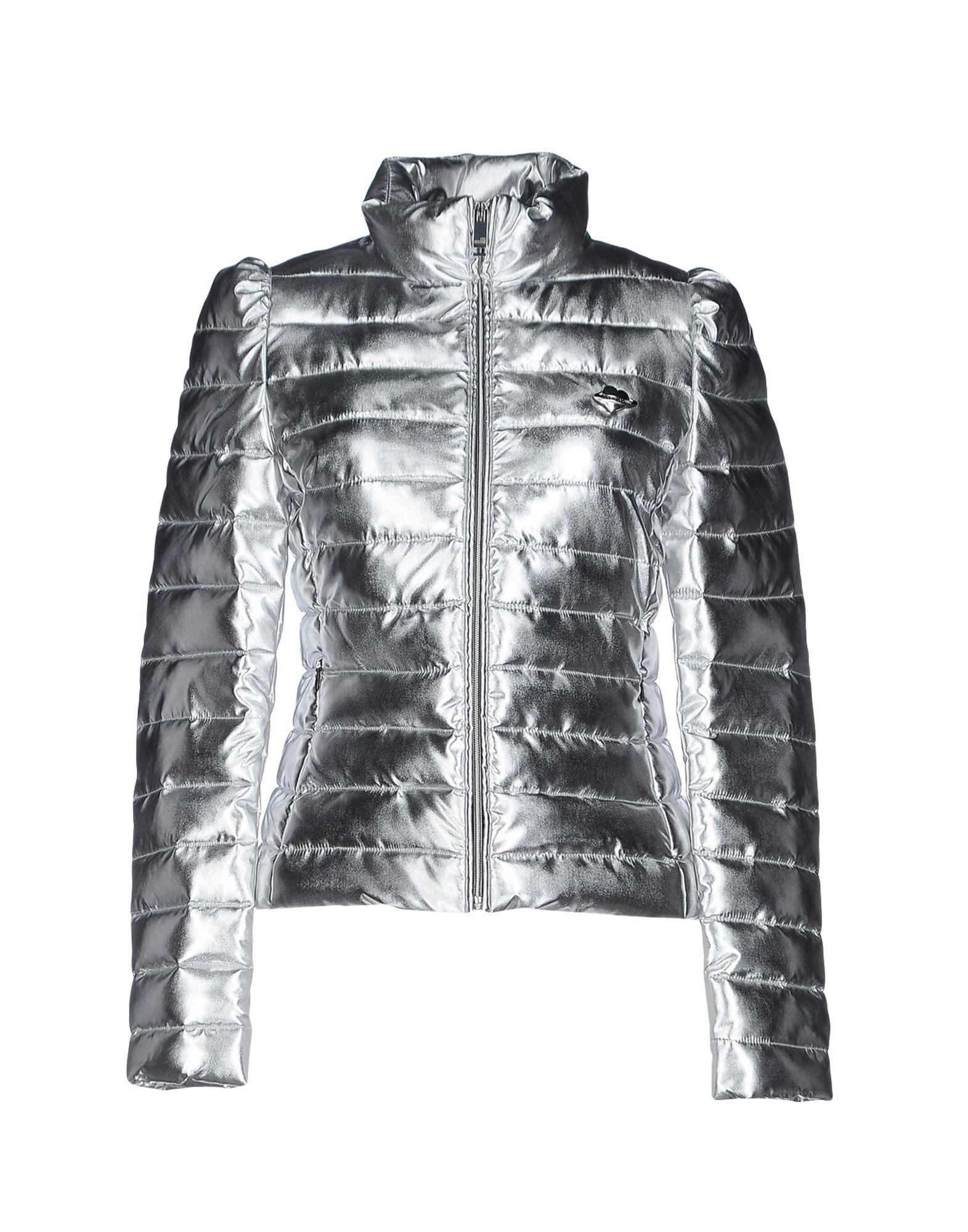 7dfd4d08cb573 Love Moschino Jacket in Metallic - Lyst