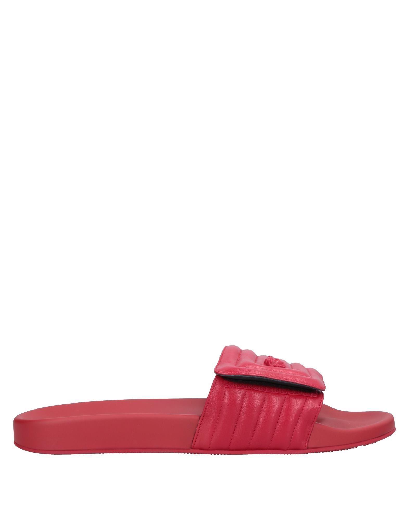 8c1af333c7ad Versace Sandals in Red for Men - Lyst