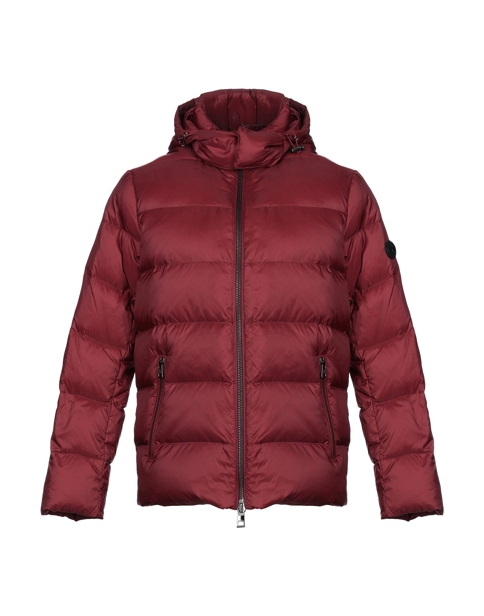b9a3131752f8 Michael Kors Synthetic Down Jacket in Red for Men - Lyst