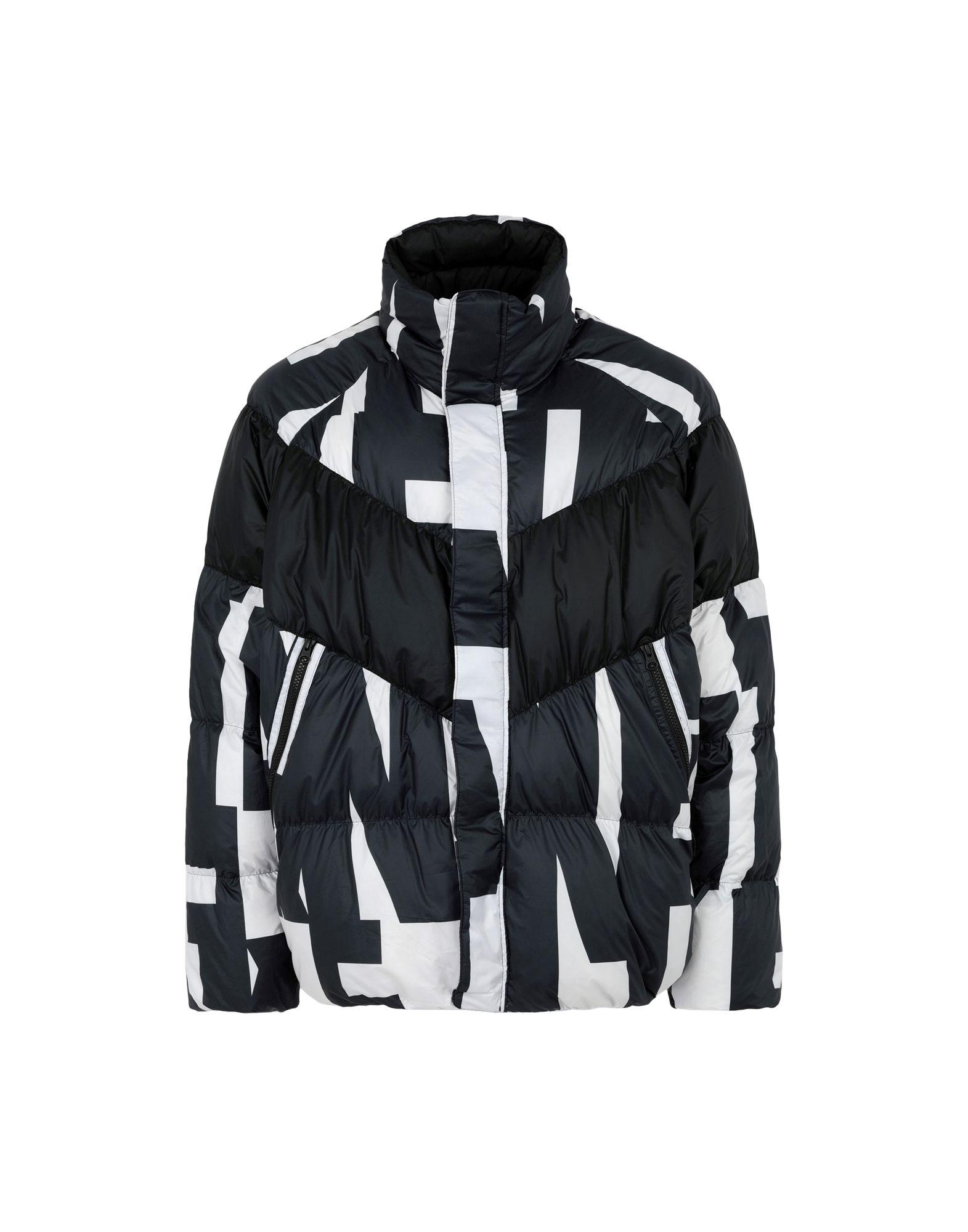 b97c6faeef8 Nike Sportswear Quilted Printed Shell Down Jacket in Black for Men ...