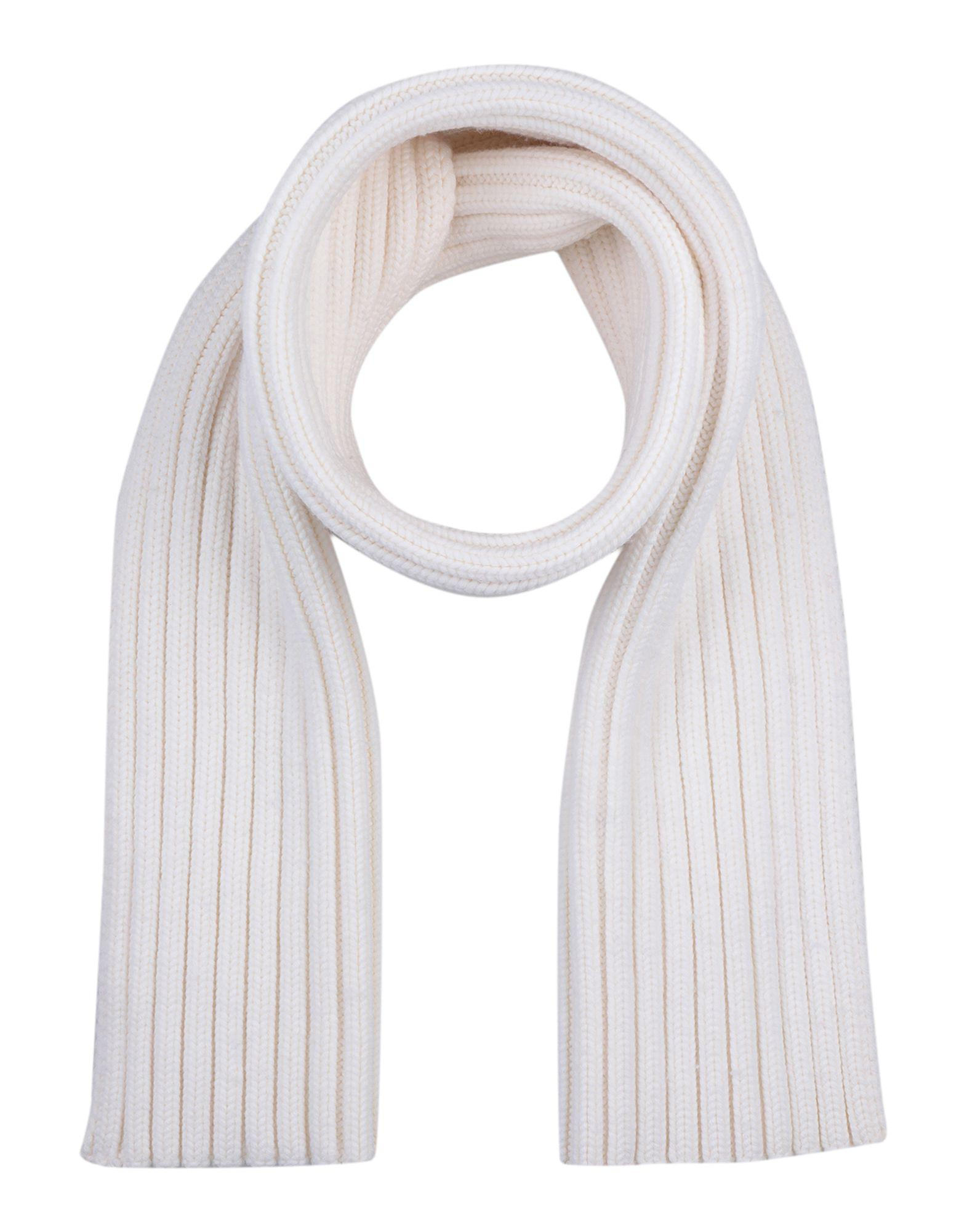 0377713d94a5 Lyst - MM6 by Maison Martin Margiela Oblong Scarf in White