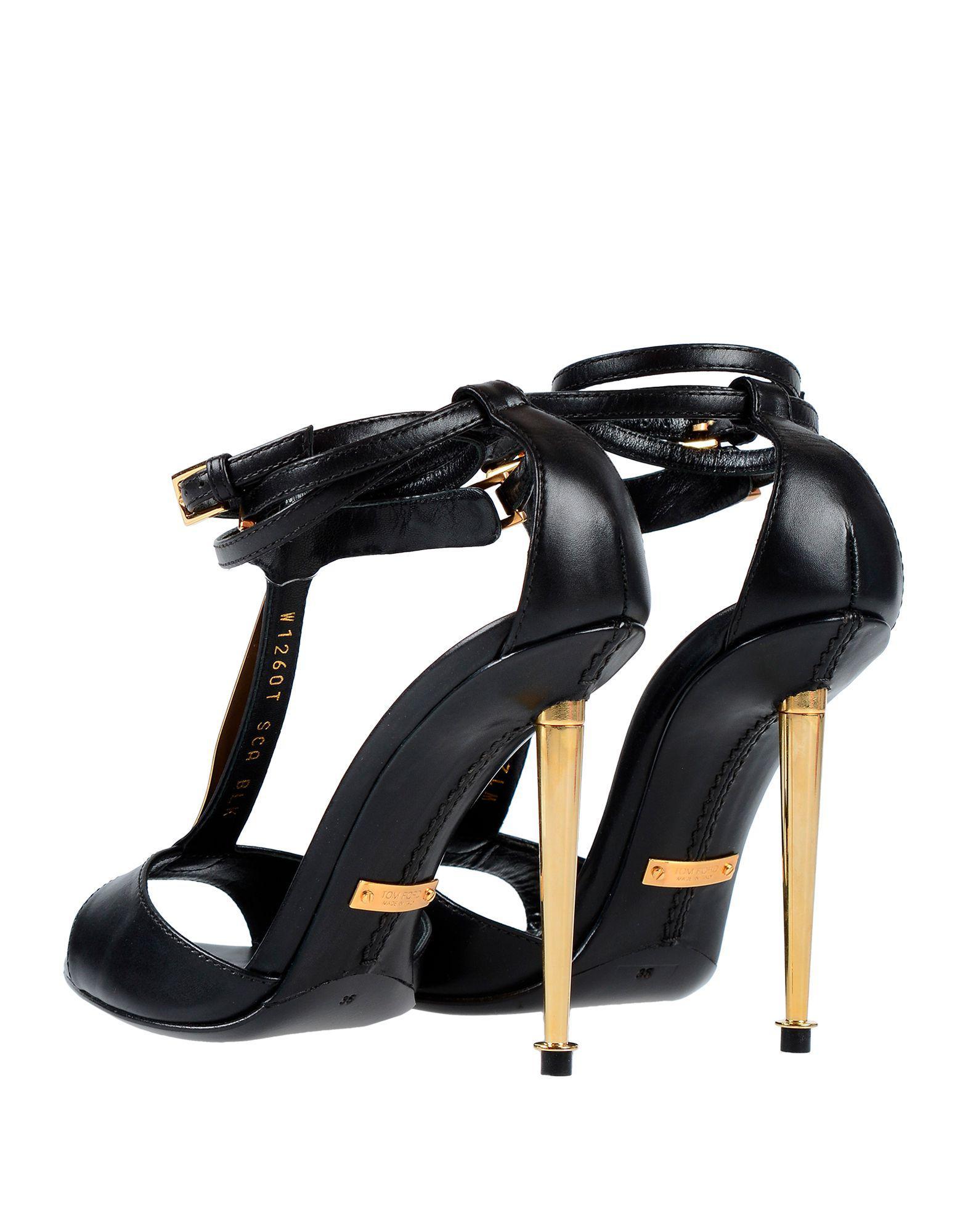 037f52f9129b Lyst - Tom Ford Sandals in Black
