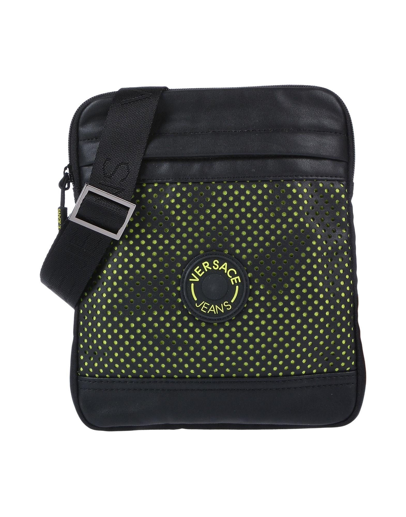 98a8d699b7e8 Versace Jeans Cross-body Bag in Black for Men - Lyst