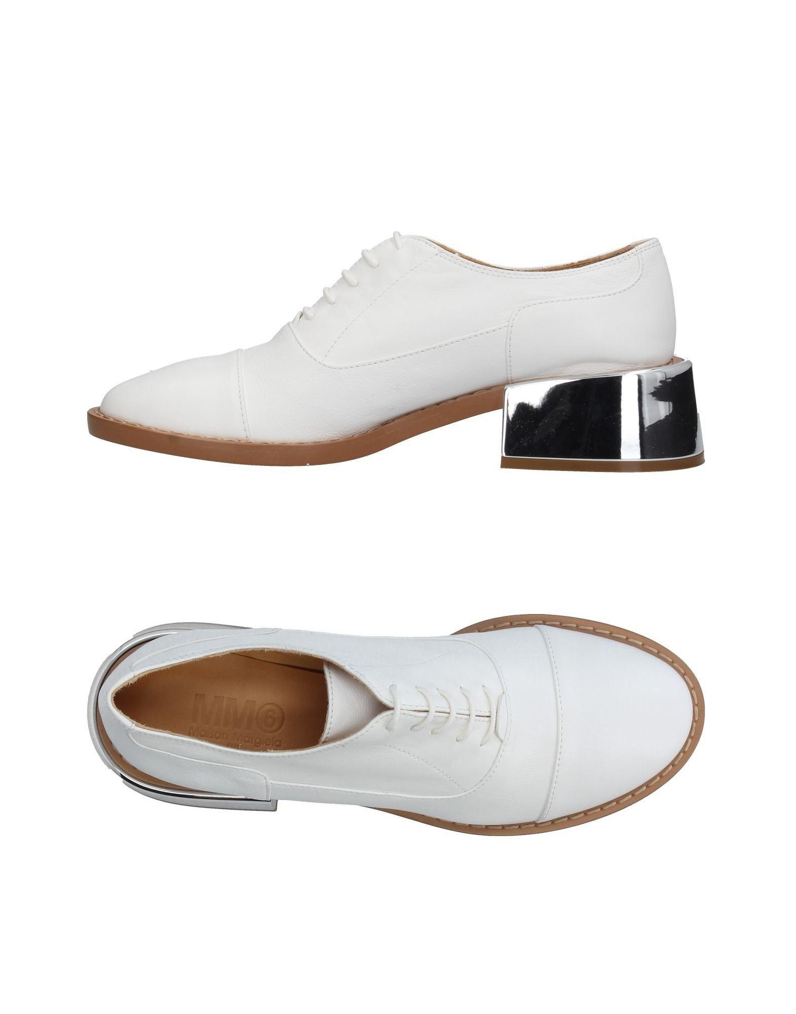 pointed toe lace-up shoes - White Maison Martin Margiela NU08tI