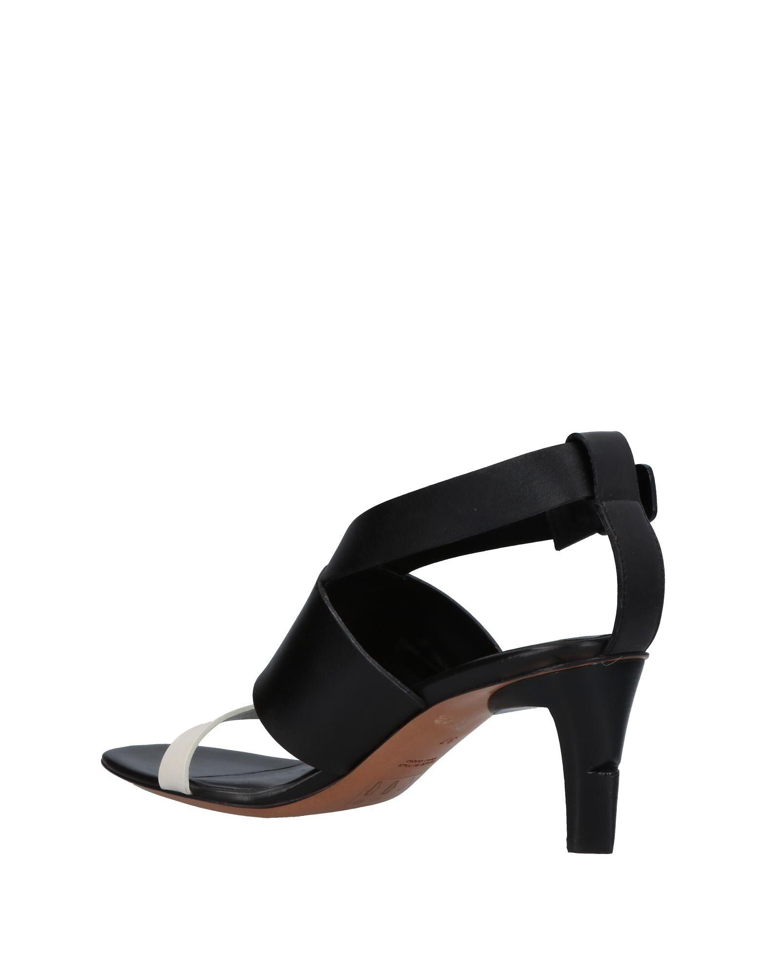 8b991040381f6 Lyst - CoSTUME NATIONAL Sandals in Black