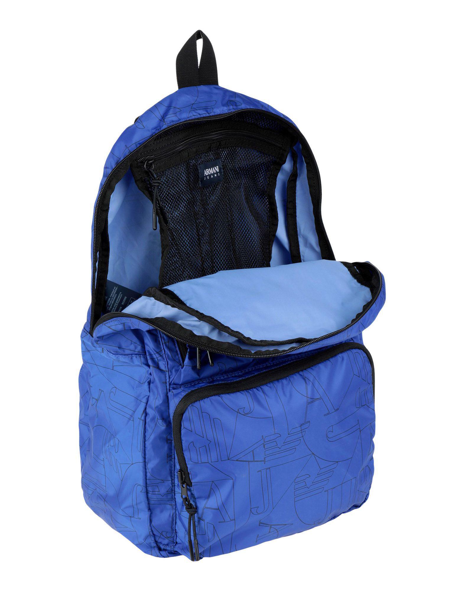 Lyst - Sacs à dos et bananes Armani Jeans pour homme en coloris Bleu 99b79e42608
