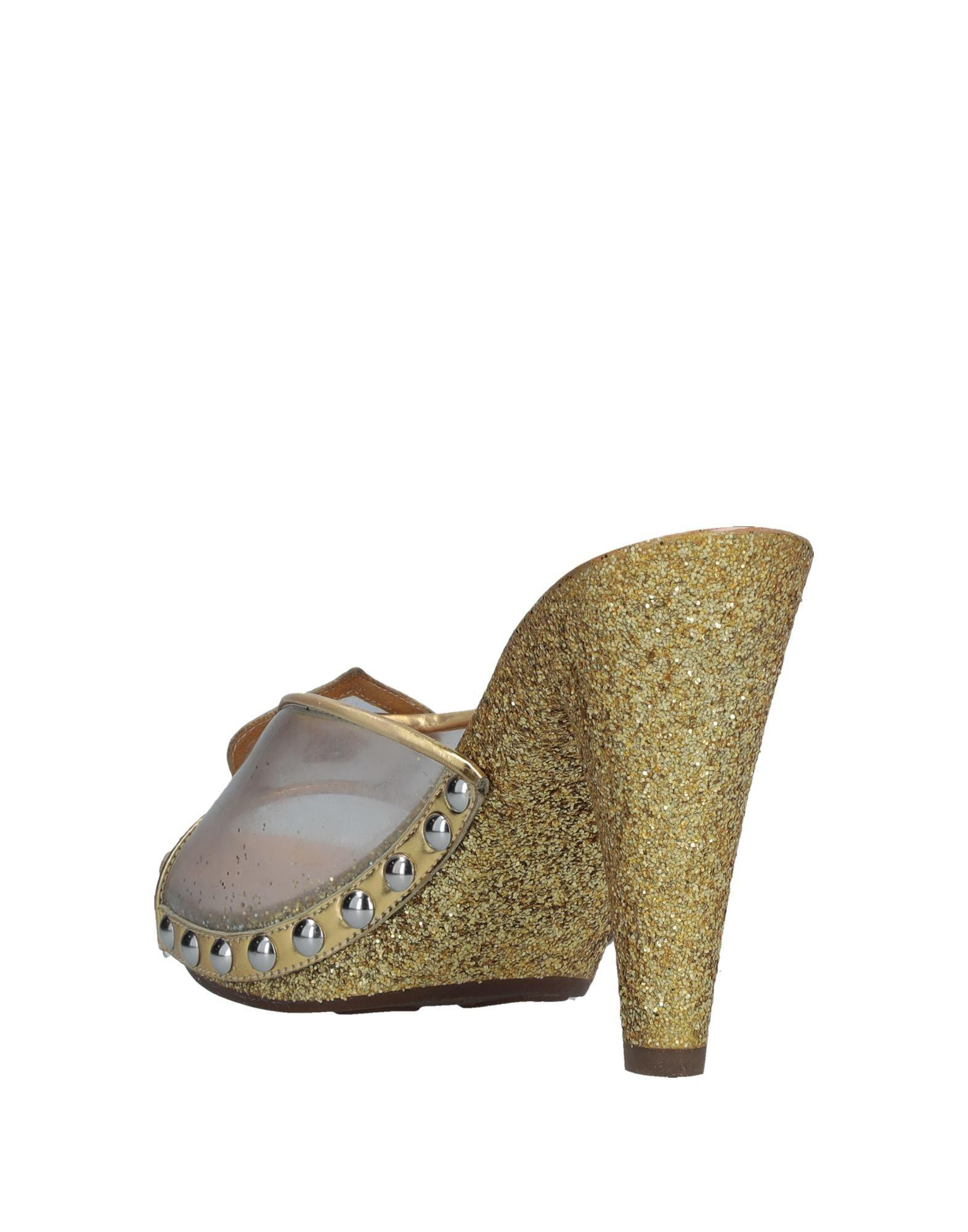 1b819c69219 Lyst - Marc By Marc Jacobs Mules in Metallic