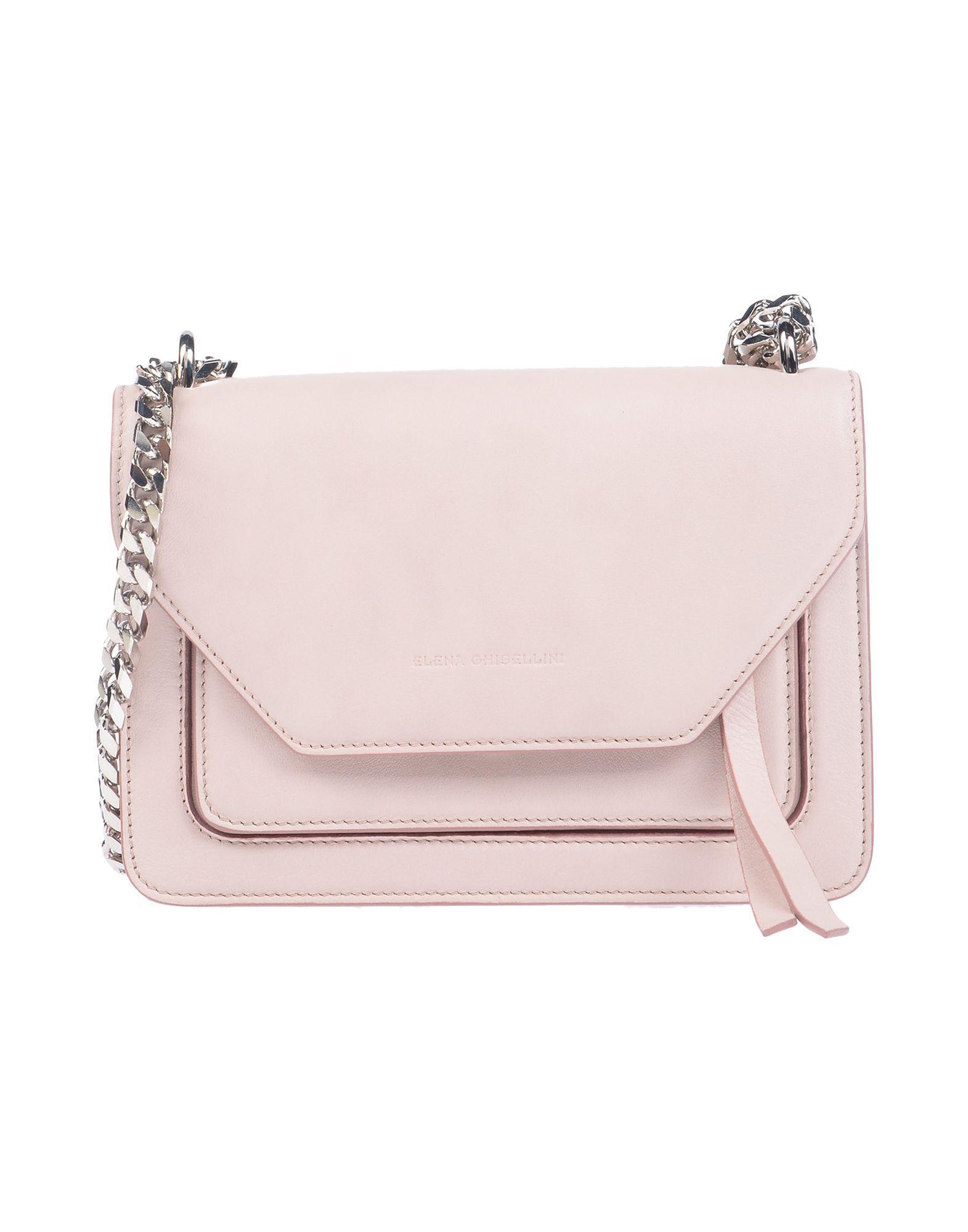 28723c25c375 Lyst - Elena Ghisellini Shoulder Bag in Pink - Save 27%