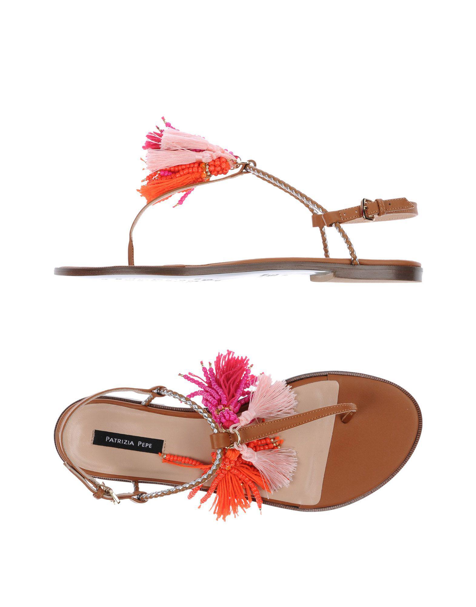 FOOTWEAR - Toe post sandals Patrizia Pepe ZQ7S48