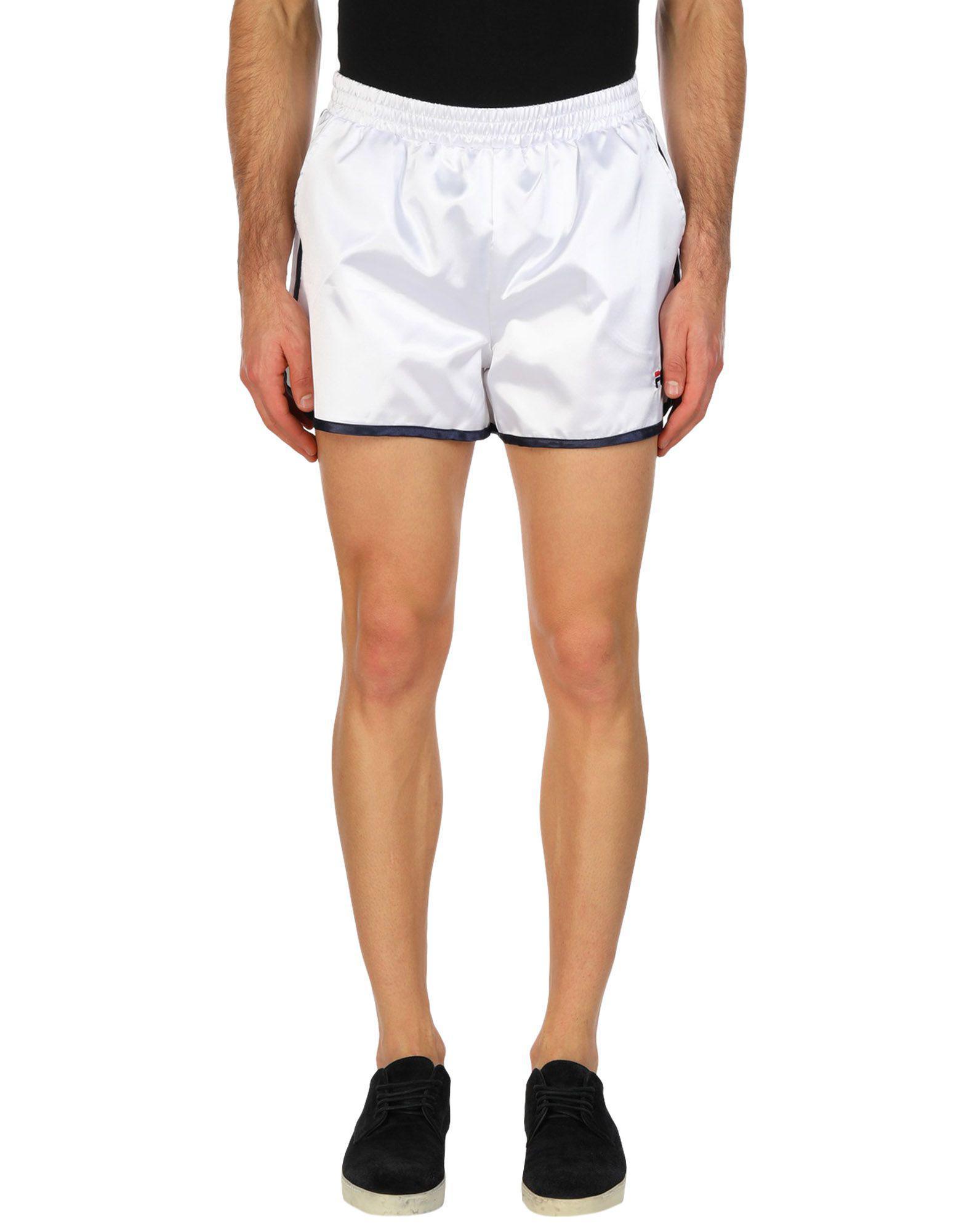 e062efa5482be Fila Shorts in White for Men - Lyst